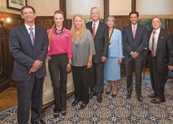 M.H.A. program celebrates first endowed chair