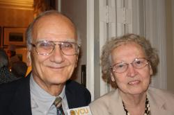 recent photo of donors Miriam and Bill Blake