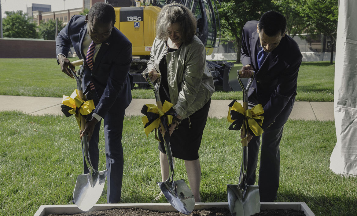 photo from 2018 ERB Groundbreaking